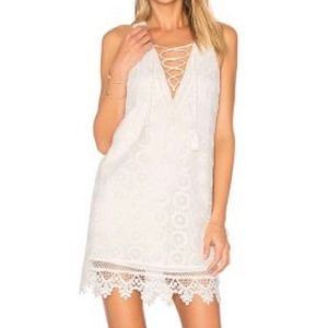 "Lovers and Friends ""Escape"" dress in Ivory"